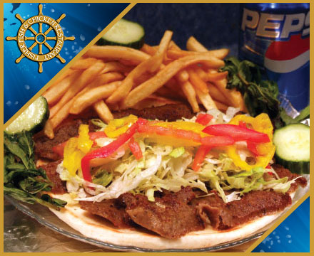 Fisher Fish and Chickent Restaurant Columbus Ohio serves Gyros and Philly Steak